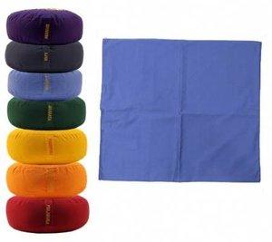 Meditatiemat Blauw 65x65x5cm.