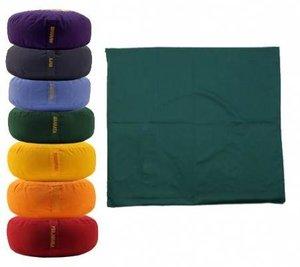 Meditatiemat Groen 65x65x5cm.