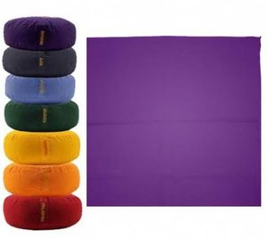 Meditatiemat Violet 65x65x5cm.
