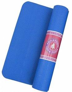 Yogi & Yogini yogamat  - blauw - 'sticky'