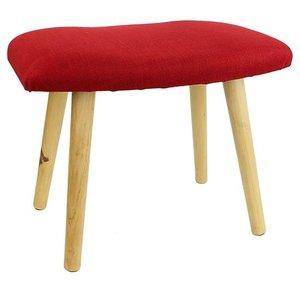 Meditatiebankje - hoog - hout - rood