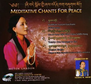 Cd Meditative chants for peace