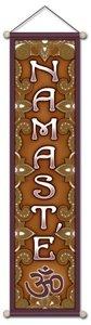 Banner 'Namaste' klein