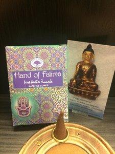 Hand of Fatima wierookkegels