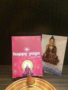 Happy Yoga wierookkegels