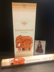 Sandalwood - hexagram