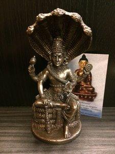 Vishnu bronskleur 13cm