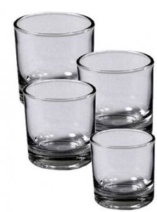 Kaarshouder Glas