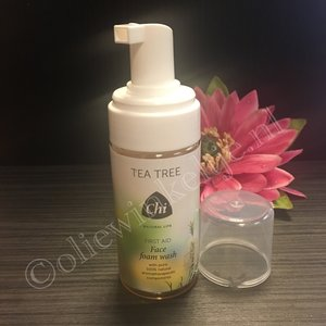 Tea tree eerste hulp face foam wash 115ml