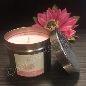 Rose Vanilla - geurkaars 150 gram
