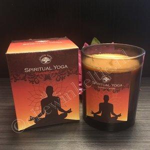 Spiritual Yoga - geurkaars luxe