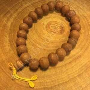 Mala 21 kralen Walnootkleurig Bodhi Tree 13 mm