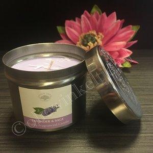 Lavender Sage - geurkaars 150 gram
