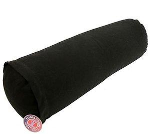 Yoga bolster zwart