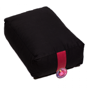 Yoga bolster zwart rechthoekig