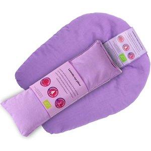 Oog en nekkussen relax set,biologisch lavendel