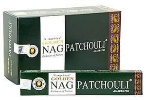 Agarbathi Golden Nag Patchouli wierook