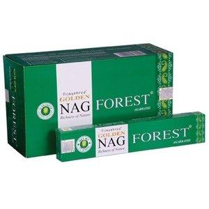 Agarbathi Golden Nag Forest wierook