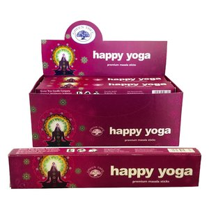 Happy Yoga wierook - 15 gram