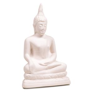 Geursteen Boeddha wit