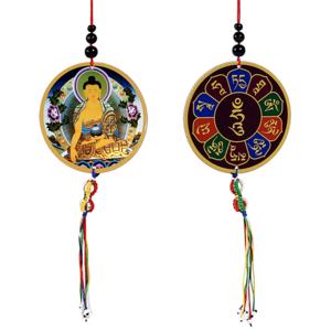 Beschermhanger Boeddha & Dorje