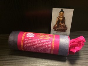 Tibetan White Lotus Incense