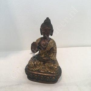 Amoghassidhi Boeddha Dhyani brons  8cm