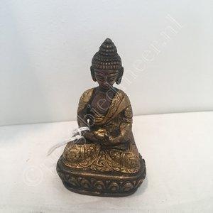 Amithaba Boeddha Dhyani brons  8cm