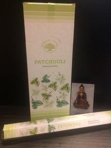 Patchouli wierook - hexagram