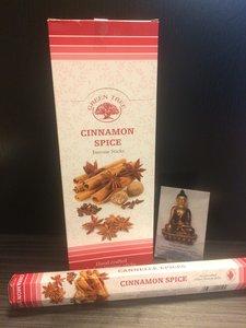 Cinnamon Spice wierook - hexagram