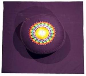 7de Chakra meditatie set paars Kruin/Sahasrara
