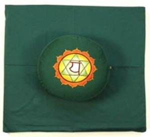 4de Chakra meditatie set groen Hart/Anahata