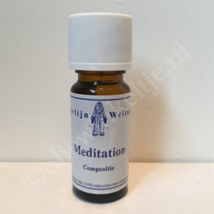 Meditation compositie olie 10 ml