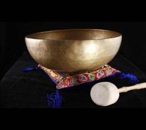 Klankschaal Nepal ca 250-300gr 10cm