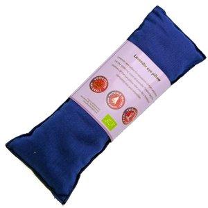 Oogkussen blauw met biologisch lavendel