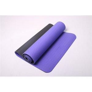 Yogamat Yogastyles TPEpro Standaard paars/zwart
