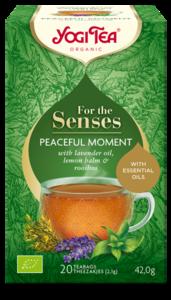 Yogi Tea Peaceful Moment for the senses