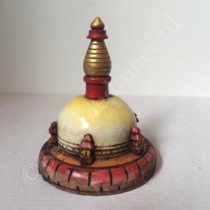 Stupa of Stoepa Hout (ca. 7,5x10cm.)