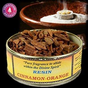 Wierookhars cinnamon-orange 30gr