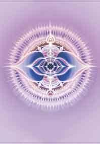 6e - Derde oog chakra mandala