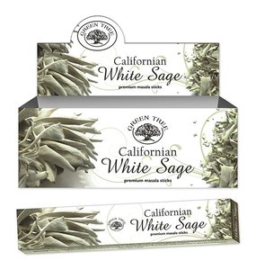 White Sage, witte salie Californian wierook 15 gram green tree