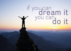 Postcard - If you can dream it you can do it