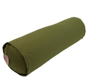 Yoga bolster olijfgroen