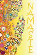 Postcard - Namaste