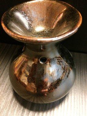 Waxmeltbrander keramiek (goudkleur)