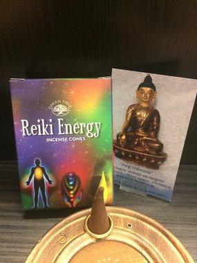 Reiki Energy wierookkegels