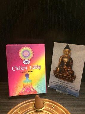 Chakra Lotus wierookkegels