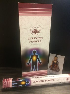 Cleaning Powers - hexagram
