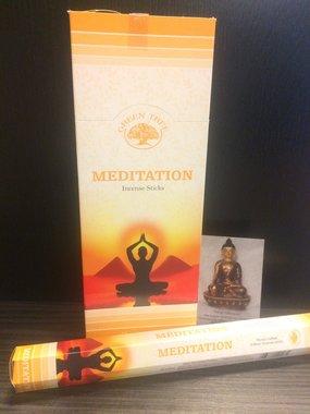 Meditation - hexagram