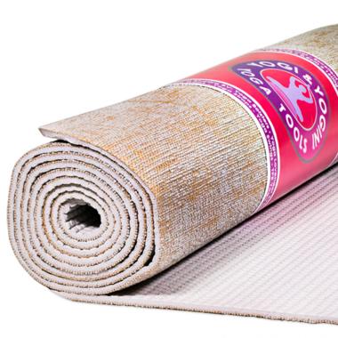 Yogi & Yogini yogamat - jute - grijs